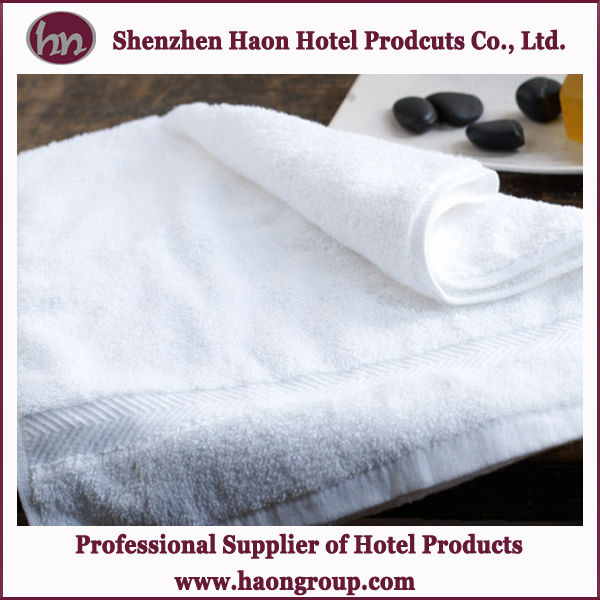 hotel luxury embroidery 100% cotton hand towel wholesale