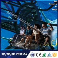 Guangzhou Longmei Games Children'S Playground Equipment Classic Adult Movies 5D 7D Cinema