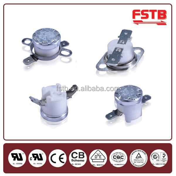 Bimetal Heating Limit Switch Ceramic High Temperature KSD301 Thermostat Water Heater Thermal Switch