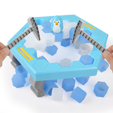 Hot ! America Educational toys Save penguin for children Early education desktop games party favors toys gift items for kids