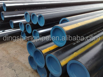 Oilfield casing pipes/carbon seamless steel pipe/oil drilling tubing pipe/manufacture