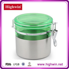 Commercial high quality stainless steel satin finished water canister
