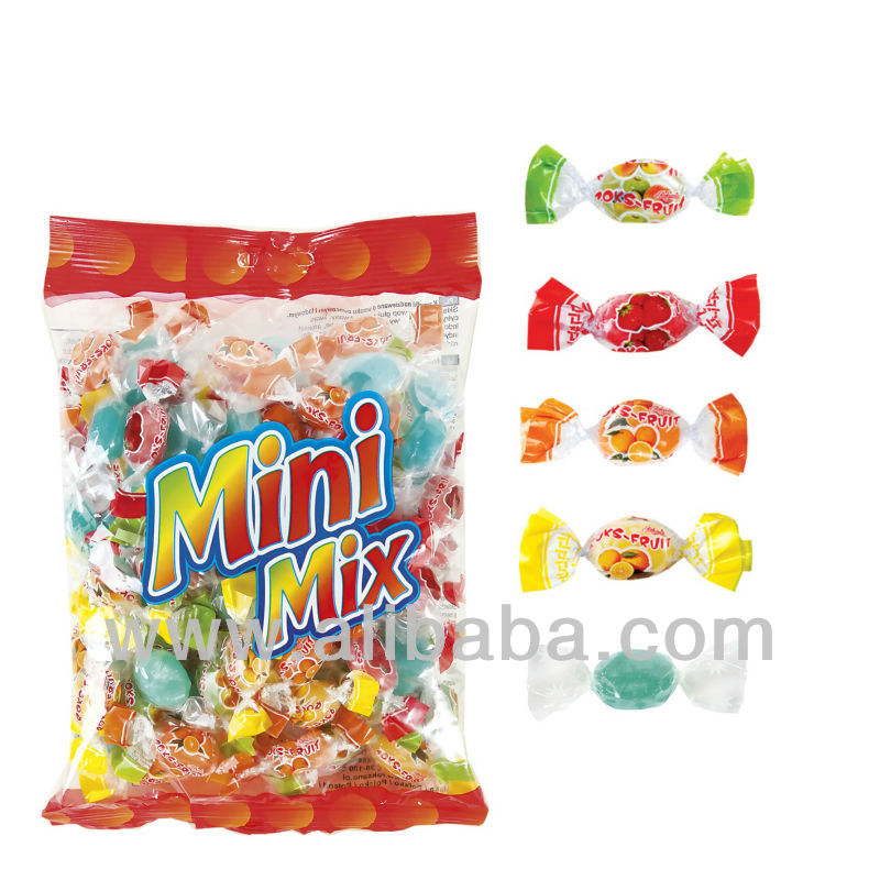 MINI MIX mix of small filled candies ice and fruit flavour