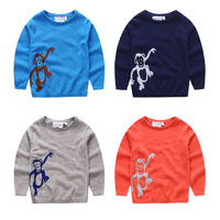 Handmade Knitted Woolen Pattern Design Cotton Baby Sweaters From China