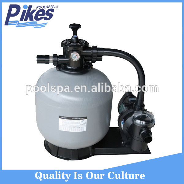 Factory supply water treatment sand filter pump swimming pool filtration equipment