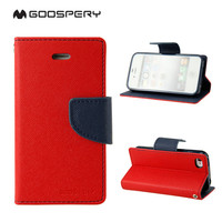 IN Stock Goospery Card Slot Holder Flip Leather Cover for Samsung Galaxy Y Duos S6102