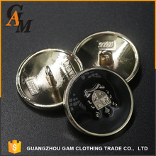 Hot sale cheap price custom made metal clothing coat sewing fur coat buttons for wholesale