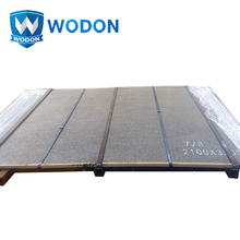 chromium wear resistant ore mill feeder conveyor wear liners steel or iron plates ss400