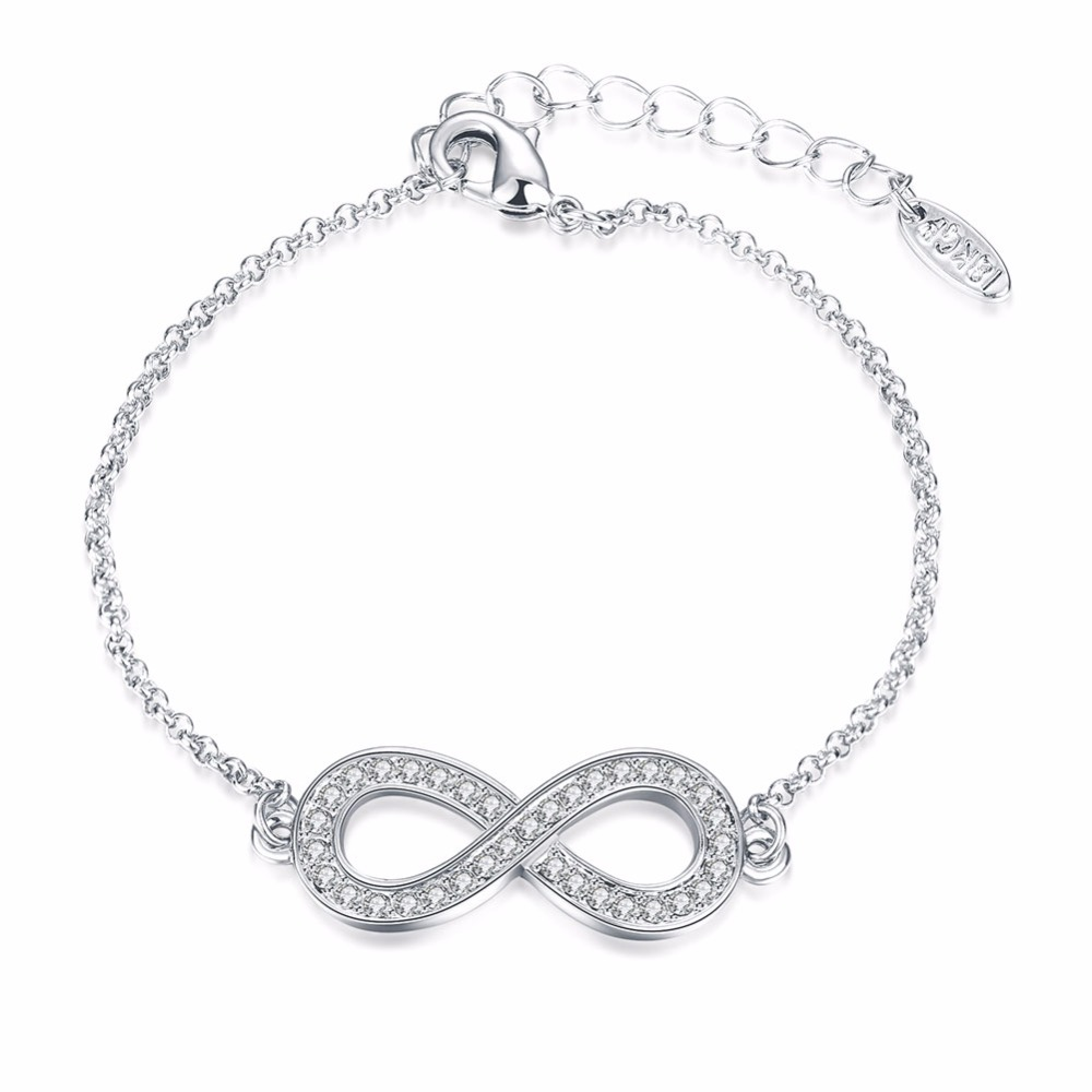 Infinite Charm Bracelet 2017 White Gold