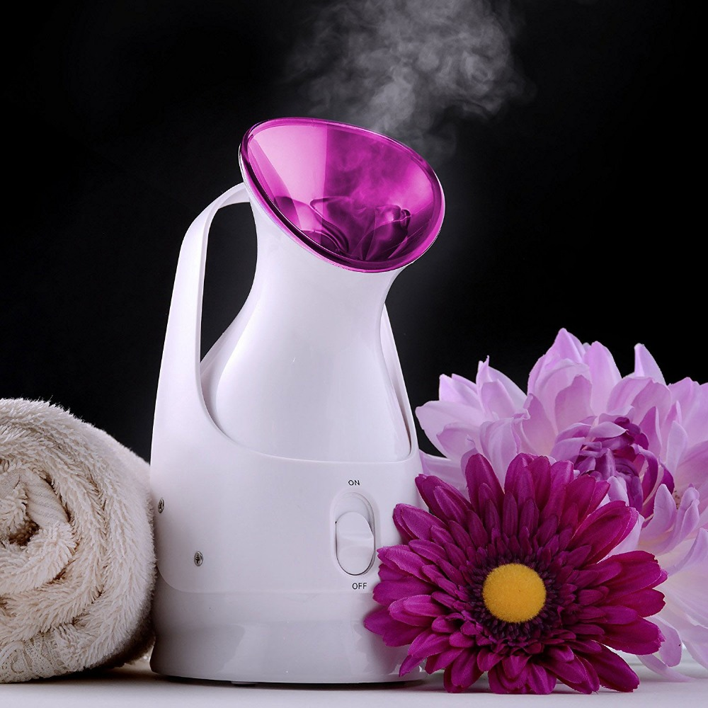 Home Facial Sauna with Touch Button Deep Cleansing and Keep Moisture for Daily Skin Care Nano ionic Facial Steamer