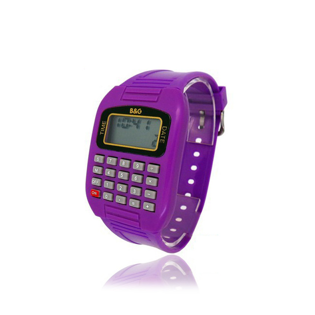 cheapest electronic 8 digit calculator watch