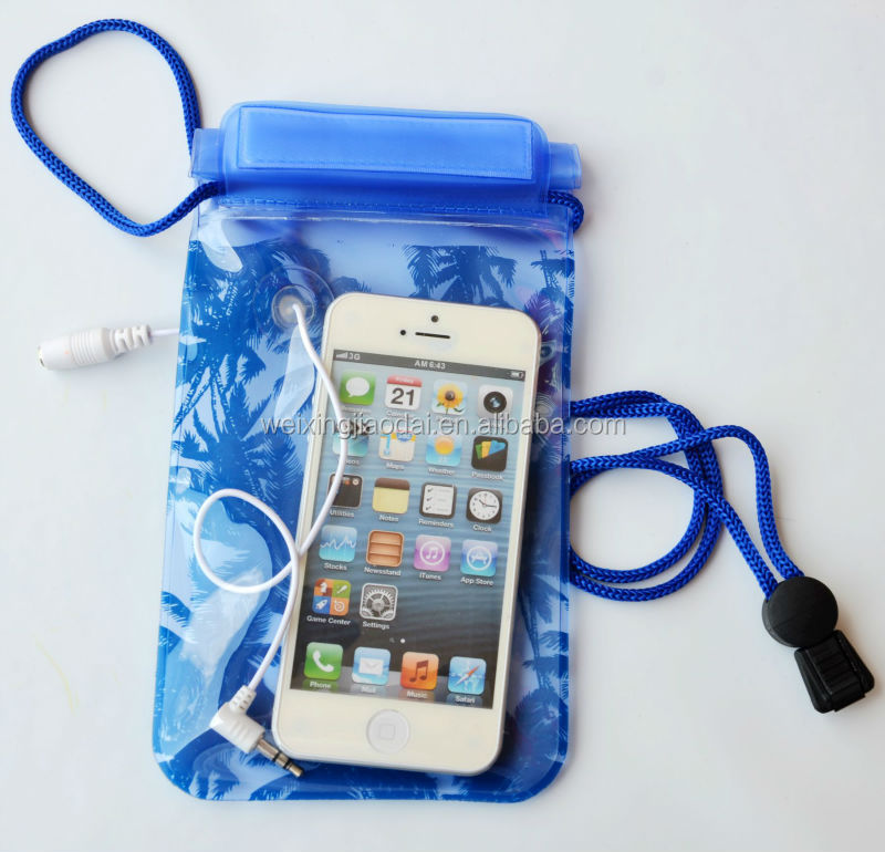 Waterproof Pouch Dry Bag with Compass For HTC Samsung Mobile Phone