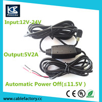 usb GPS charging cable 12v to 48v DC converter 12VDC step up to 48VDC 2.1A 100W customization available