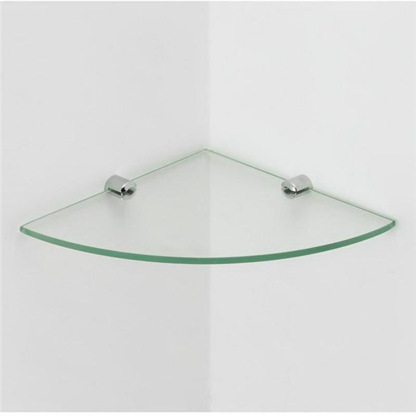4mm clear shelves glass tempered bathroom floating corner. Black Bedroom Furniture Sets. Home Design Ideas
