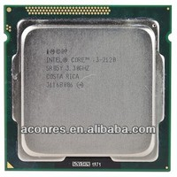 CPU Processor Intel Core i3 2120 3.3G used CPU