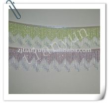 Wave pattern beads fancy style fringe for sale