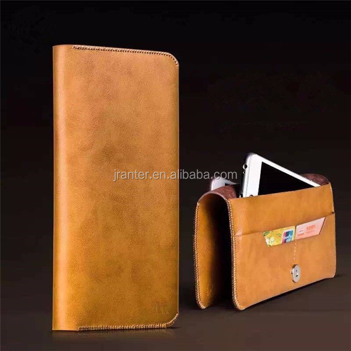 Custom Mobile Phone Wallet Case Cell Phone Case Leather for iPhone Wallet