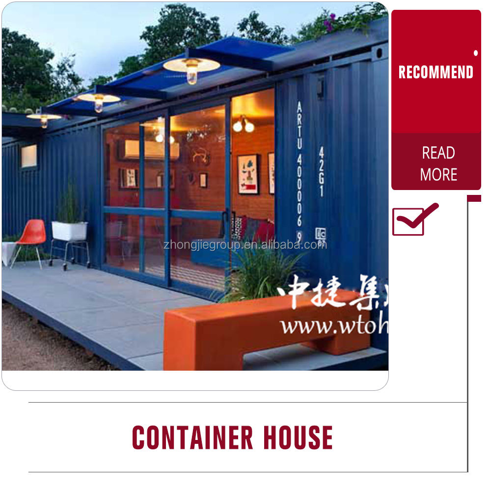 used sandwich panel garden shed container homes/luxury container house