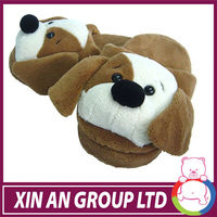 Funny Winter Toe Big Feet Warm Soft dog Plush Slippers