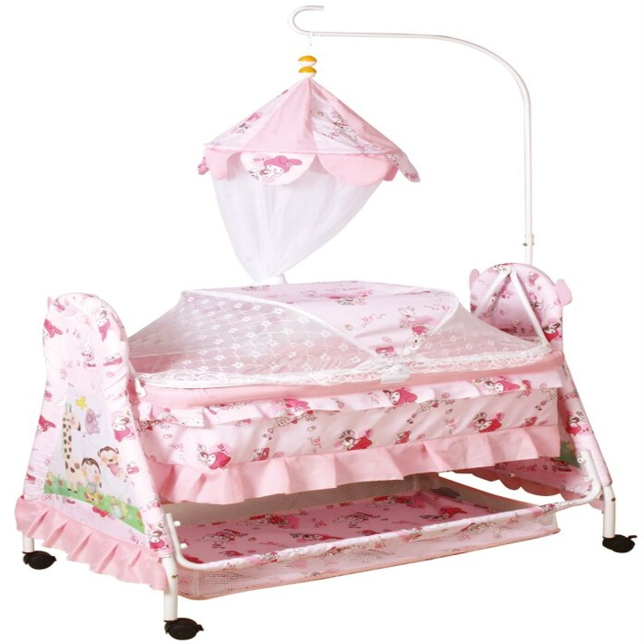 2018 new cheap cradle baby cot bed,hot sale metal hanging baby beds,modern swing baby crib china baby furniture manufacture