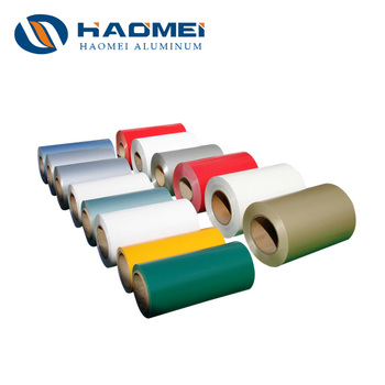 1-8 Series Color Coated Aluminum Sheet Roll Metal for Boat Cap Price
