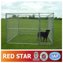 10x10x6ft Outdoor galvanized chain link large steel dog cage