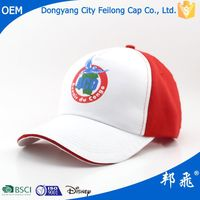 sports caps with fashion logo/high profile basball cap