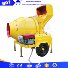 Factory Price Best Service JZR 350 JZR350 Mobile Portable Cement Concrete Mixer