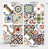 300x300 mm various high quality art ceramic tiles fpr many rooms