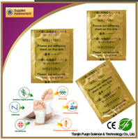 Super herb detox foot patch help to sleep , help defecation , absorb toxin from body
