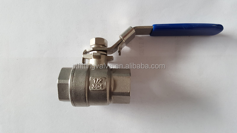 2-PC Stainless Steel Ball Valve CF8/CF8M