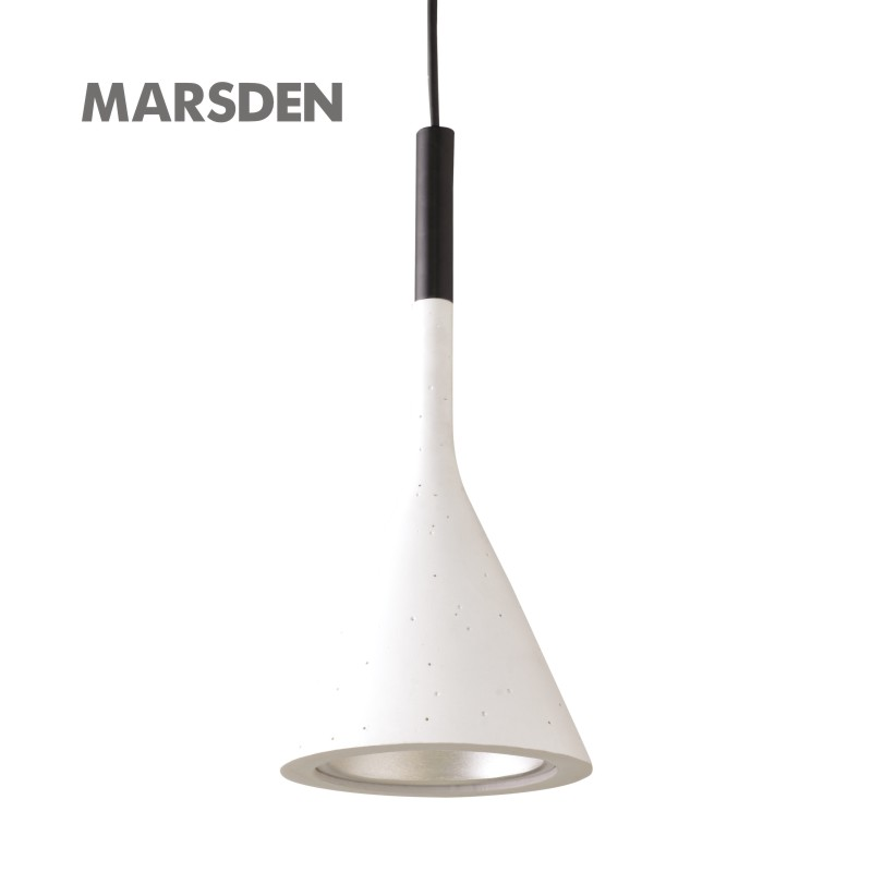 MARSDEN modern metal painting italy art pendant lamp for music restaurant .