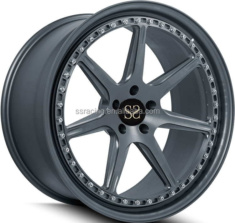 Matt Black New Style 2-<strong>PC</strong> Forged Wheels/ wheels for cars