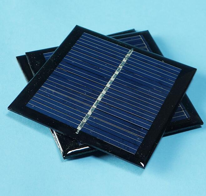 0.6W 5.5V 90mA 0.5w 5V polycrystalline solar Panel small solar cell PV module for mobile phone battery charger