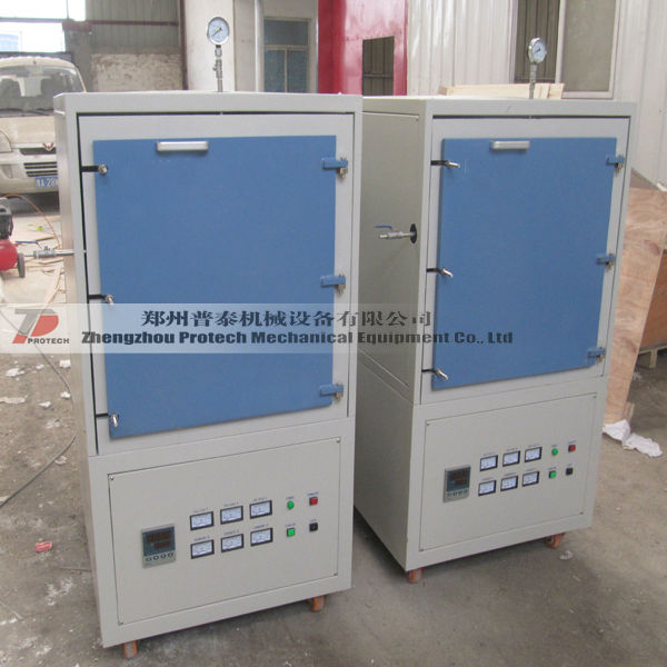 PT-1200A Controlled gas Nitriding furnace atmosphere annealing furnace