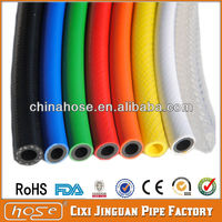 PVC High Pressure Air Hose with Brass End Fittings,UV Resistant Pvc Pipe,Gas Tube