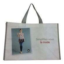 BSCI audit wholesale non woven shopping bag with lamination for promotion and gift and supermarket