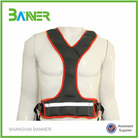 Body building training Neoprene weighted power vest for lady