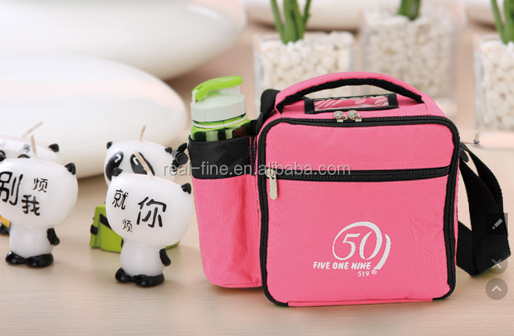 2015 New Style Men Outdoor Sport Thermal Cooler bag W/Bottle Sleeve cross-body bag breast milk storage bag