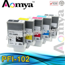 Aomya PFI-102 PFI102 PFI 102 ink cartridges for Canon IPF600 IPF605 IPF610 IPF700 IPF710 IPF720