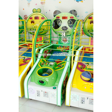 High quality coin operated kids prize machine basketball arcade game machine