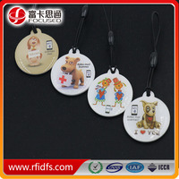 cute design nice price nfc ring tags for pets