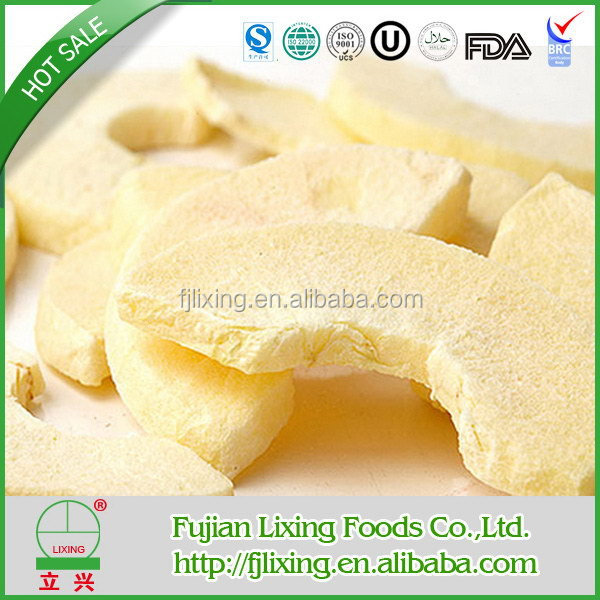 2015 OU CERTIFICATED DRIED FRUIT OFCHINESE FD FRUIT FREEZE DRIED APPLE SLICED DRY FOOD