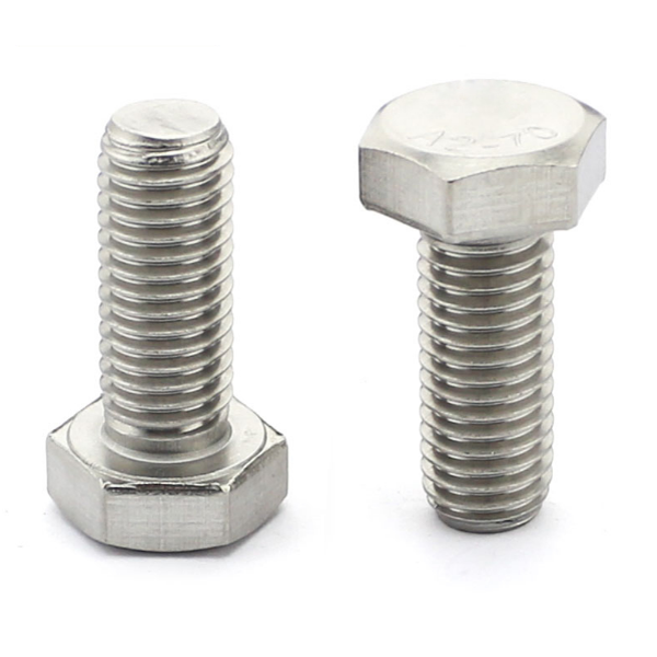 Standard size high quality din933 full thread 4.8 grade m20 m48 hex <strong>bolt</strong>