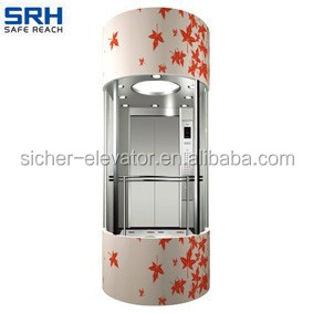 Smart and Intelligent Germany Technology Machine Room Elevator Made in China