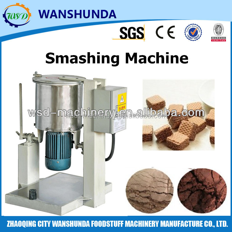 Automatic Wafer / Biscuit Crusher / Crushing Machine