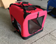 Portable soft-sided pet travel carrier indoor and outdoor Dog Cat cage and crate