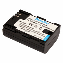 LP-E6 LPE6 LP-E6N LPE6N Replacement Battery for Canon EOS 5D 5D2 5DS R Mark II 2 III 3 6D