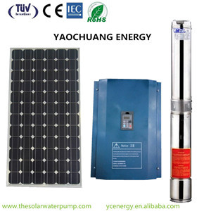 Dry Run Protection Water Pumping Variable Frequency Drive Solar Inverter