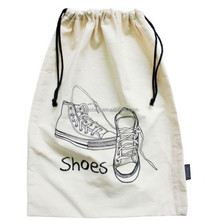 custom logo print luxury drawstring dust bag